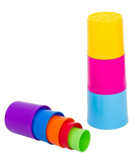 Baybee Infunbebe My 1st Stacking Cups - Multicolor