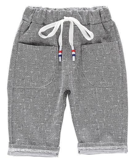 Pre Order - Awabox Solid Three Fourth Pants - Grey