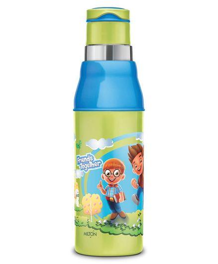 Milton Kool Steel Sipper Bottle Green - 520 ml
