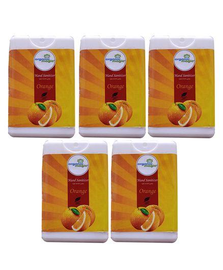 Organic Magic Pocket Hand Sanitizer Orange - 50 gm