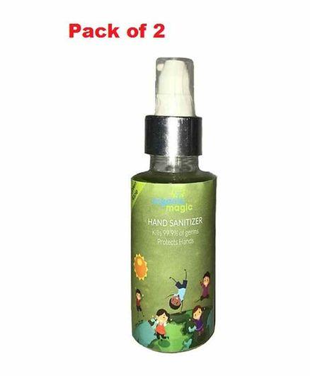 Organic Magic Pocket Hand Sanitizer Green Apple - 100 ml