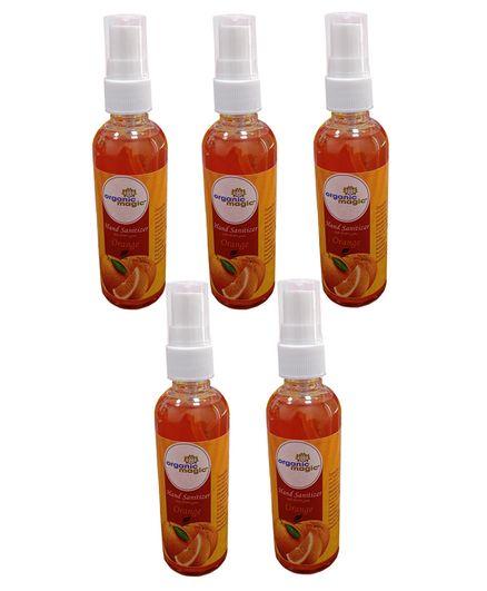 Organic Magic Hand Sanitizer Orange - 100ml