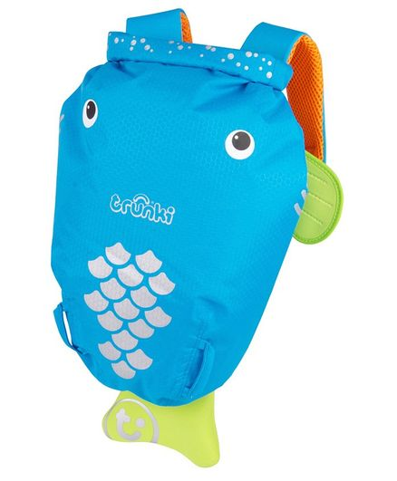 Trunki PaddlePak Water Resistant Backpack - Blue