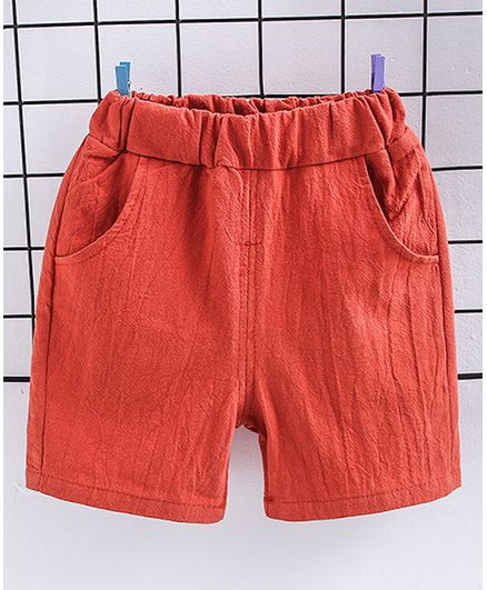 Pre Order - Awabox Solid Shorts - Red