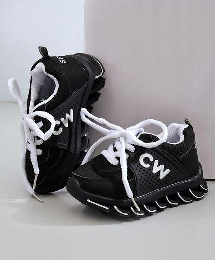 Cute Walk by Babyhug Sports Shoes - White Grey
