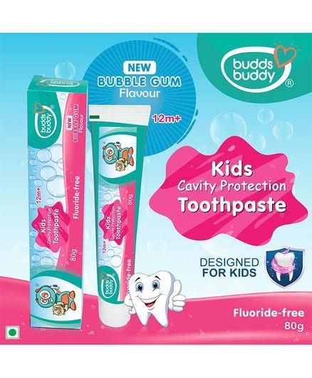 Buddsbuddy Toothpaste Pack of 2 - 80 grams