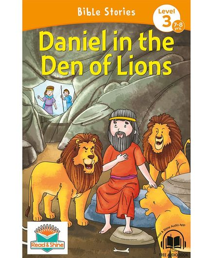 Daniel in the Den of Lions Bible Stories With Audio Book - English