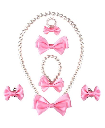 Bembika Necklace Set - Pink
