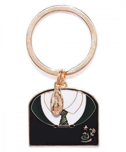 EFG Harry Potter Slytherin Court Keychain - Black