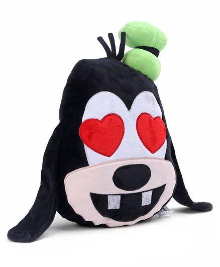 Goofy In Love Emoji Face Plush - 13 inches