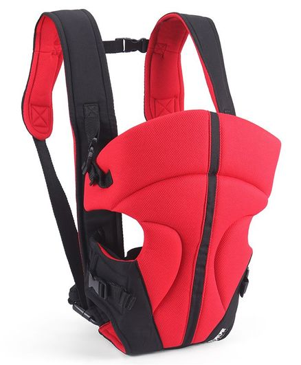 3 in 1 Soft Baby Carrier - Red