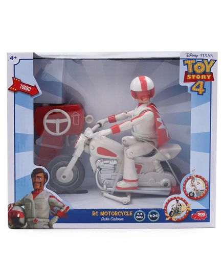 Disney Toy Story Remote Control Motorcycle - Red White