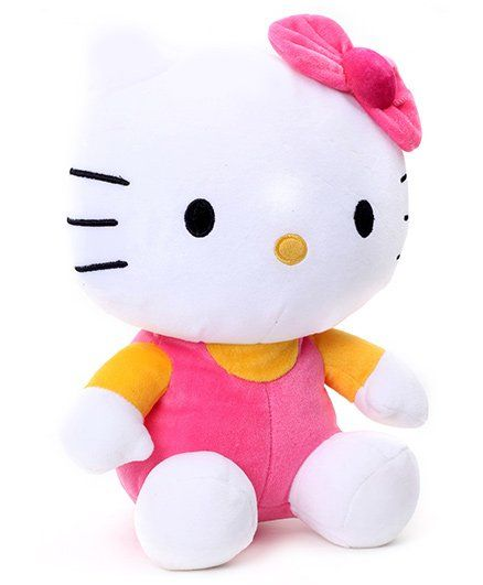 df518052f2b Hello Kitty Soft Toy White 26 cm Online India, Buy Soft Toys for (3-12 ...