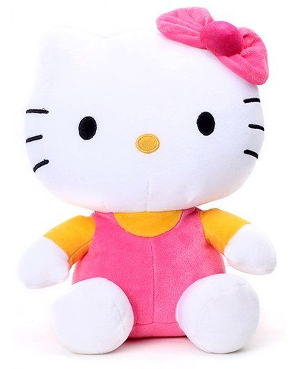 e87b6b552fc Hello Kitty Soft Toy White 26 cm Online India, Buy Soft Toys for (3 ...