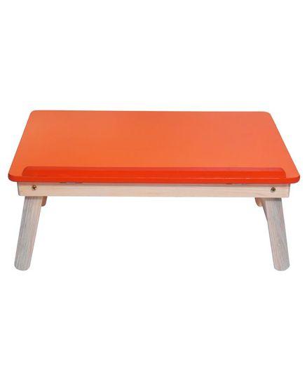 Sattva Portable Folding Study Table - Orange