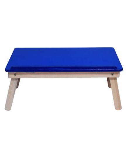 Sattva Portable Folding Study Table - Blue