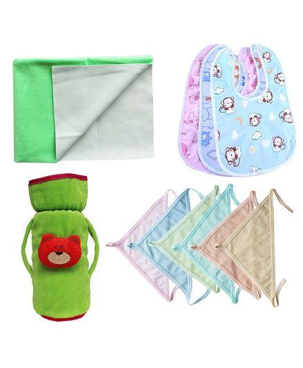 My Newborn Essential Combo Pack - Green