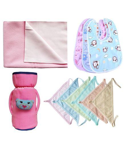 My Newborn Essential Combo Pack - Pink