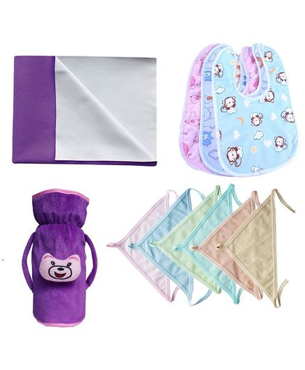 My Newborn Essential Combo Pack - Purple