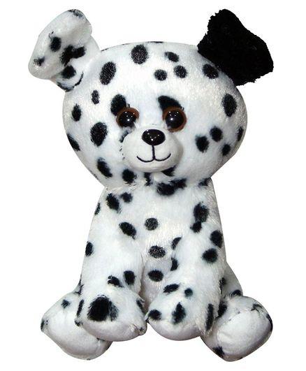 Soft Buddies Dalmatian Pup Plush Toy White - Height 30 cm