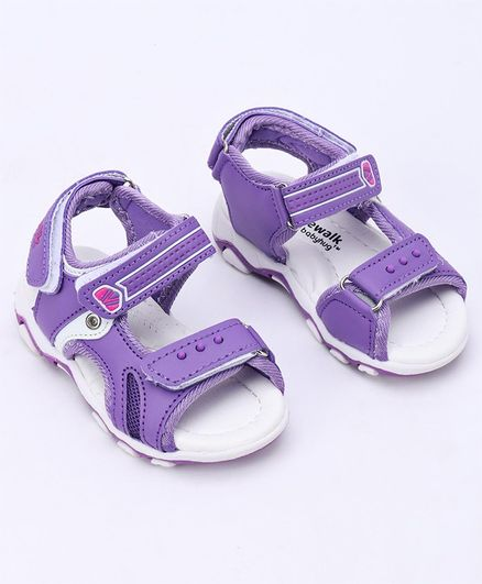 Cute Walk by Babyhug Sandals - Lavender