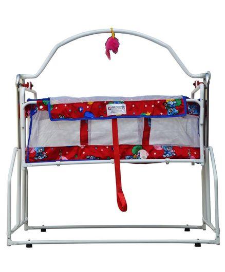 Genuine Industries Baby Pendulum Cradle - White