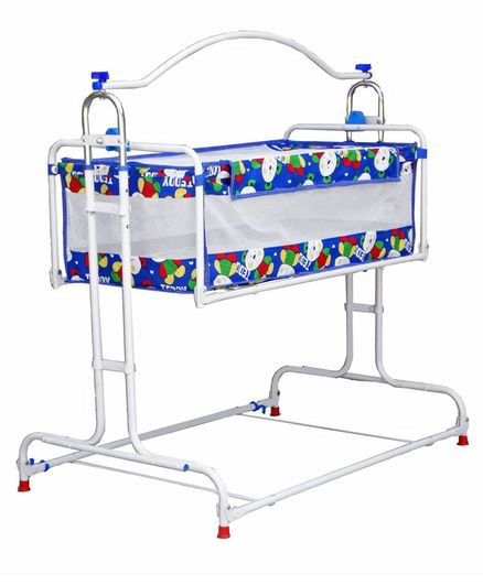 Genuine Industries Baby Pendulum Cradle - Blue