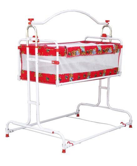 Genuine Industries Baby Pendulum Cradle - Red