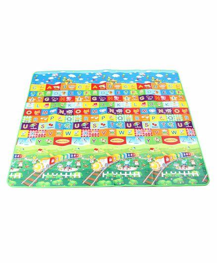 ToyMark Alphabet Printed Educational Play Mat - Multicolor