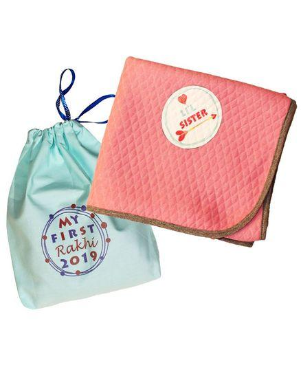 Kadambaby Rakhi Combo Gift Pack of 2 - Blue & Pink