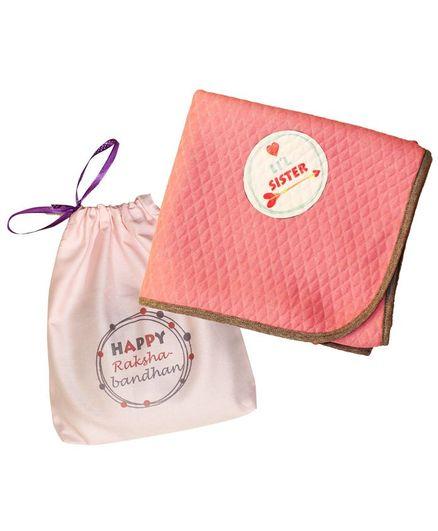 Kadambaby Rakhi Combo Gift Pack of 2 - Peach