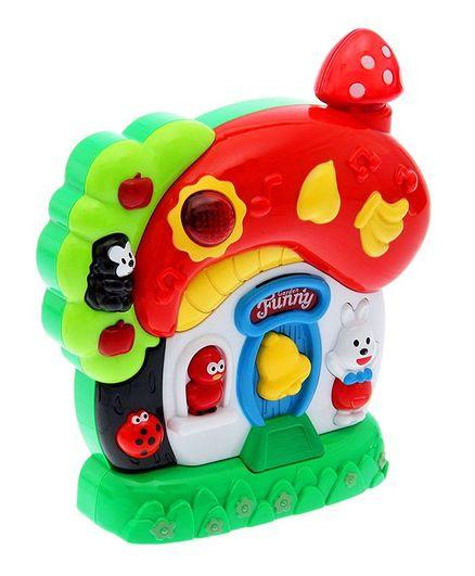 Yamama Garden Musical Toy House - Multicolour