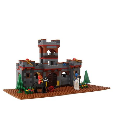 Peacock Smart Blocks Castle Set With Warriors - 582