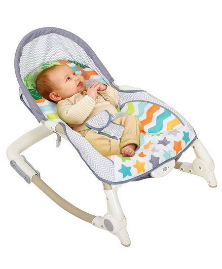 Baybee Toddler Portable Recliner Rocker Chair - Multicolour