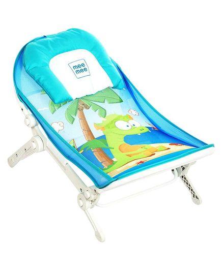 Mee Mee Advanced Anti- Skid Baby Bather Dino Print - Blue
