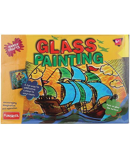 Funskool Glass Painting Online India, Buy Art & Creativity Toys for (6 ...