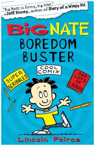 Harper Collins Big Nate Boredom Buster - Lincoln Peirce