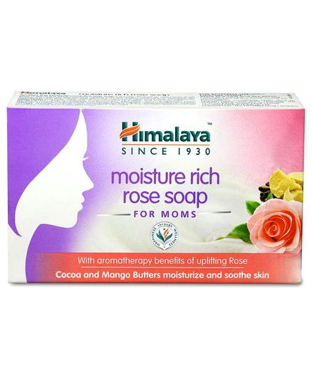 Himalaya Moisture Rich Rose Soap - 75 gm