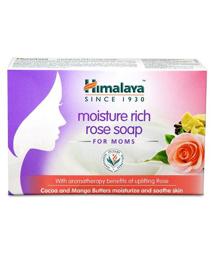 Himalaya Moisture Rich Rose Soap - 125 gm