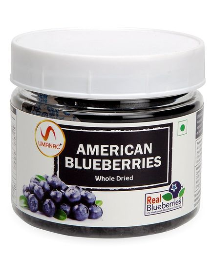 Umanac American Dried Blueberries - 150 gm