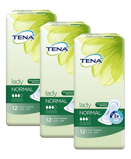 Tena Lady Normal Bladder Control Pads - 36 Pieces