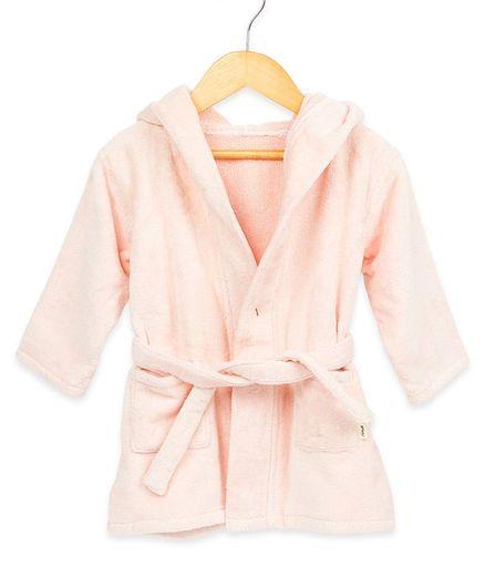 Masilo Hooded Bath Robe – Pink