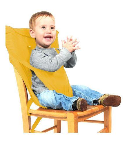 Magic Seat Belt For Feeding Baby - Yellow
