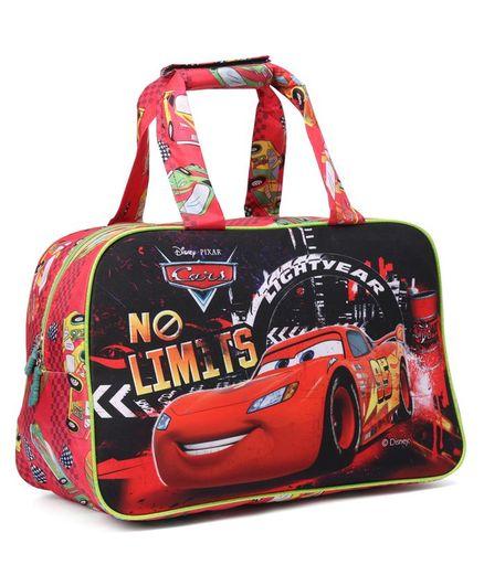Disney Pixar cars No Limits Printed Multipurpose Bag Multicolor - Red  and Black