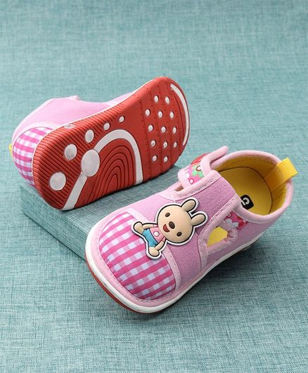 Cute Walk by Babyhug Casual Shoes Velcro Closure - Purple