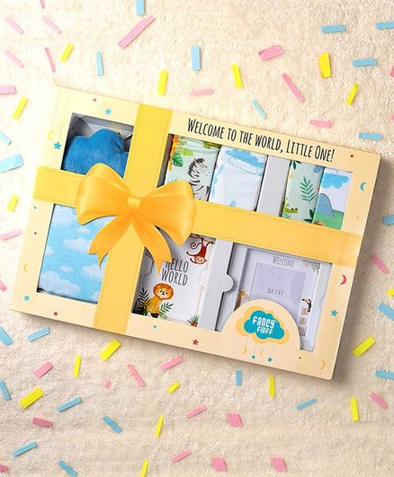 Fancy Fluff Animal Theme Grand Gift Box (0 to 12 Months)