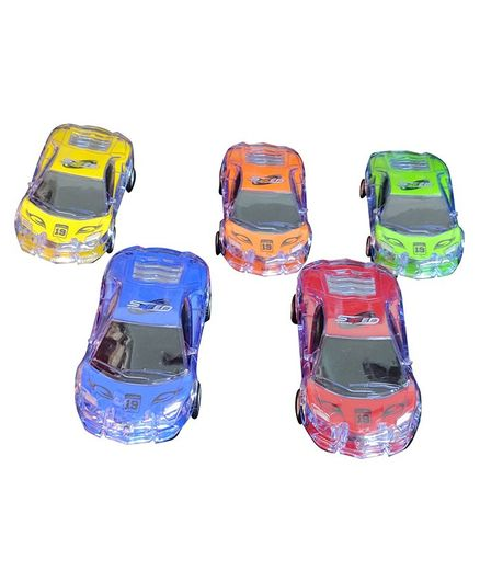 Syga Pull Back Racing Sport Cars Set Multicolor - Pack Of 5