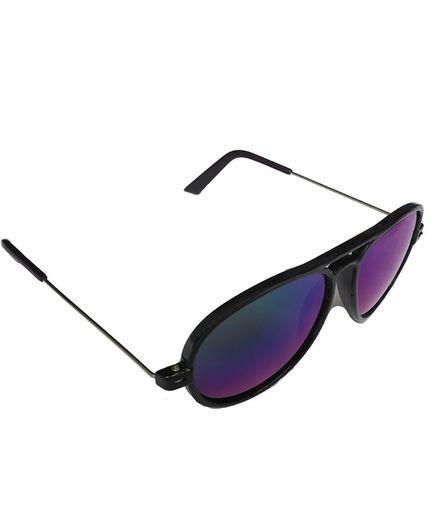 Glucksman Classic Aviator Sunglasses - Blue