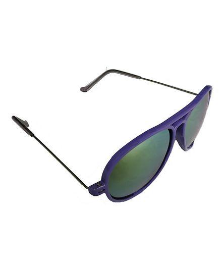 Glucksman Classic Aviator Sunglasses - Violet