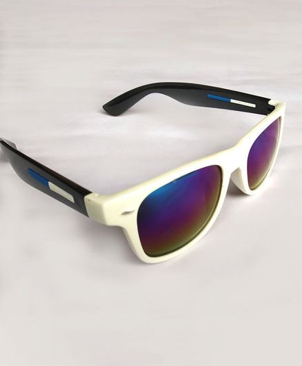 Glucksman Classic Wayfarer Sunglasses - White